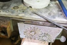 WIP, on the jewellers bench / Goings on in our own jewellery workshop, at the bench, WIP, designs etc...