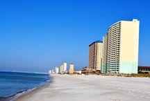 Scenery | Panama City Beach FL / Panama City Beach, Florida beach scenery including spectacular sunrises and sunsets