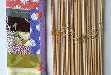 Double Pointed Knitting Needles Holder / http://www.lowlandoriginals.etsy.com