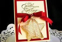 Christmas cards and diy