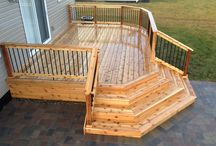 Deck stairs & Deck Skirting