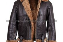 B3 Ginger Aviator Shearling Sheepskin Bomber Jacket / Buy this sophisticated B3 Ginger Aviator Shearling Sheepskin Bomber Jacket at most affordable price from Sky-Seller and avail free shipping