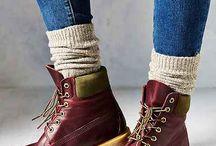 Kengät, sukat, säärystimet