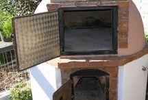 horno con chimenea