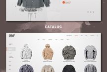 // Web Design - Urban Wear //