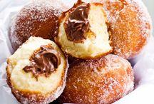 Desserts / Nutella doughnuts