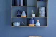 Wohnen - Trendfarbe blau