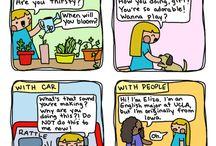 """Introvert doodles by Maureen """"Marzi"""" Wilson"""
