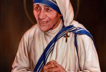"Teresa Kalkuta / Bunda Teresa adalah seorang biarawati gereja Katolik Roma yang menarik perhatian internasional dan memenangkan Hadiah Nobel Perdamaian atas upayanya menyantuni anak yatim dan orang miskin di seluruh dunia. Salah satu warisan Bunda Teresa yang paling abadi adalah keputusannya untuk memulai ordonya sendiri yang dikenal sebagai ""The Missionaries of Charity."" 04.09.2016 † St. Teresa of Calcutta"