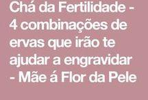 CHÁ de fertilidade