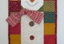snowmen quilting patterns / by Barb Mikielski
