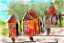 Digital Sketchbook / IPad sketching  / by Moon Stumpp