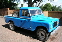 Land-Rover Series 3 109 V8 / These vehicles are becoming rare and collectible. Some pictures of the even rarer 88 V8's / by Pegasus Parts