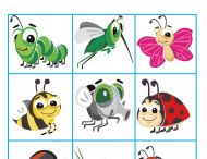 English for kids - Bingo game / Ideas for kids