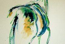 chevaux peintre