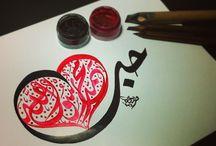 Calligraphy Calls / by IhsaanArt