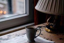 Coffee, tea, latte