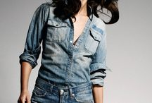 Denim / Curation of sophisticated yet cool denim looks