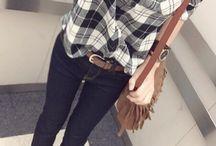 シャツファッション