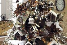 What a beautiful Christmas! / Decorazioni natalizie  Christmas  trees decorations