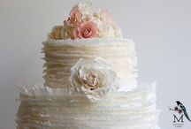 Ruffle Cakes / by Fancy Fondant Cakes by Emily Lindley