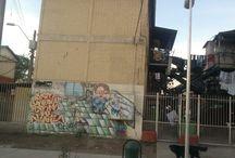 Grafitis, Stencil, Tag's y otros en Santiago / ¿que nos dicen las imagenes? ¿como nos hablan los muros? ¿que expresan los jovenes en las imagenes que pintan en las poblaciones de Santiago?, me encuentro buscando respuestas¡¡¡