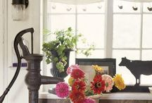 farmhouse style / by Melaine Bennett Thompson