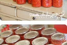 Can Can Canning / Reminds me of Grandma Treasure.....