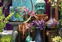Asian deco & meditation