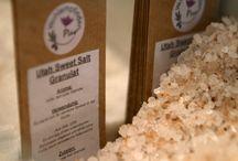Pfeffer und Salz / Tibet Salz, Sweet Utah Salz und 23 andere Salzspezialitäten