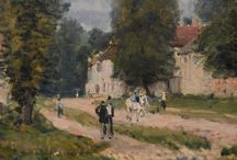 SISLEY Alfred - Détails / +++ MORE PICTURES OF DETAILS : https://www.flickr.com/photos/144232185@N03/collections
