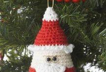 horgolt karácsony