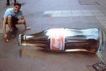 ART - Sidewalk chalk, 3D art... / by Diane Campbell