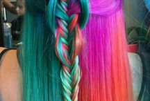 Colorfull hairs
