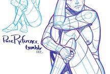 Anatomy drawing fantasy