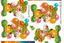 3d-Clowns