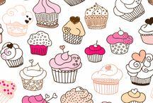 p cupcake