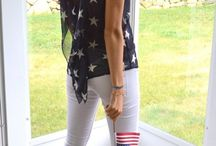 4th of July Clothing / by Martha Mosqueda-Huizar
