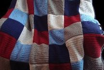 Afghans & Blankets K & C / by Betty Reck