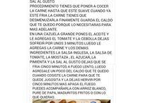 Recetas / by Hilda Salazar