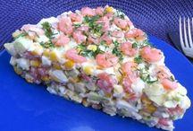 Салаты, засолка, закуски и т.д. из рыбы