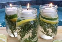 Mason Jar Ideas / by A Cook and Her Books