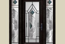 Wrought Iron Art, Stainless Steel & Stained Glass / Wrought Iron Art, Stainless Steel & Stained Glass Design Fiberglass Doors Installed by Windows and Doors Toronto