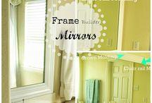 Decorating Ideas / DIY Mirrors
