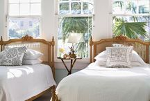 Be My Guest / Inspiration for guest room with twin beds
