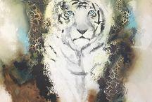 Malerier med dyr - Lise Højer / Jeg forsøger at opnå et perfekt blik i maleriet og så lade resten af dyret være mere anstrakt