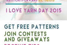 I Love Yarn Day 2015 / by I Love Yarn Day