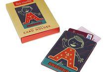 CARD001 / Paul Thurlby Leather Card Holder