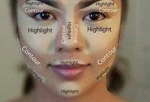 Konturování obličeje