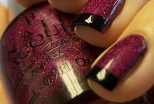 Nails / New trends and color combinations, featuring the products that are offered at Cassandra